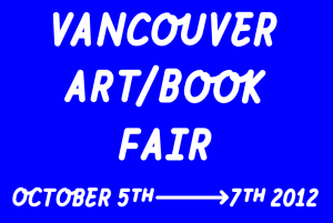 Vancouver art/book fair - crap is good